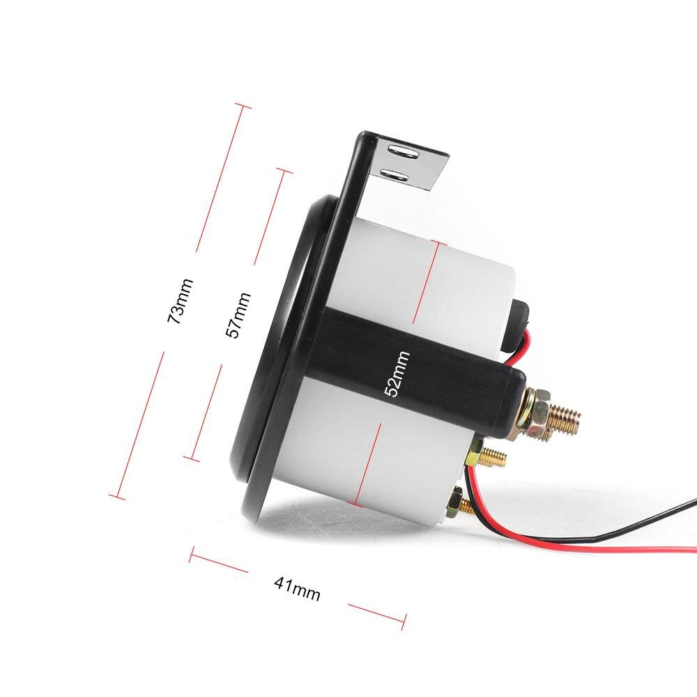 """"""" 52 мм Датчик температуры масла Универсальный 50~ 150 C Авто Датчик температуры масла Белый светодиодный автомобильный измеритель"""