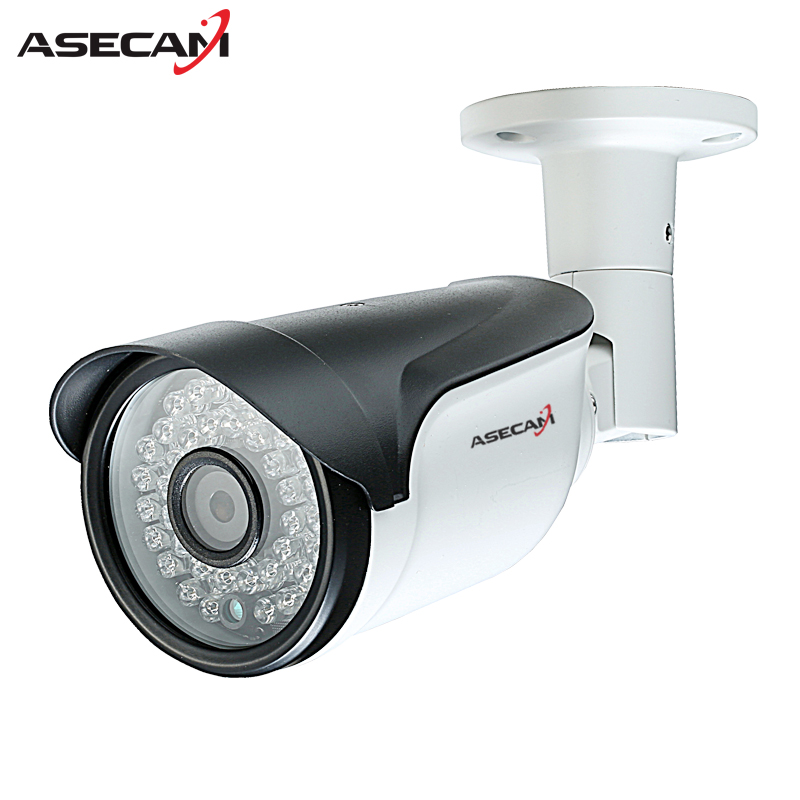 HD 1280*720P CCTV Infrared IP Camera 48V POE Black Bullet Metal Waterproof Outdoor Onvif WebCam Security 960p Surveillance p2p mosafe 16ch full hd poe power over ethernet infrared led ir cut onvif 1280 720p ip66 waterproof p2p home surveillance system