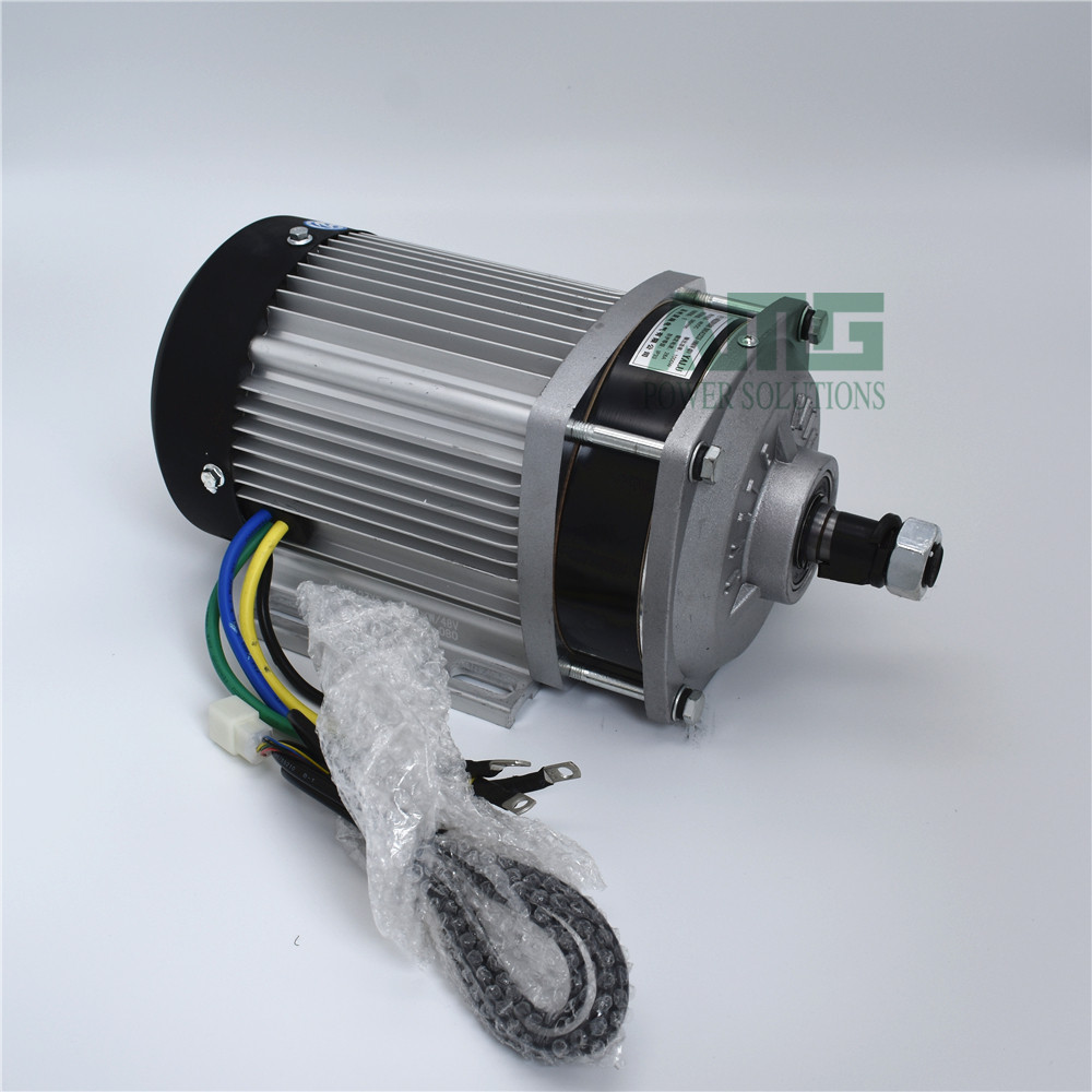 1000W 1200W DC 48 60 72V 3000rpm high font b speed b font brushless differential motor