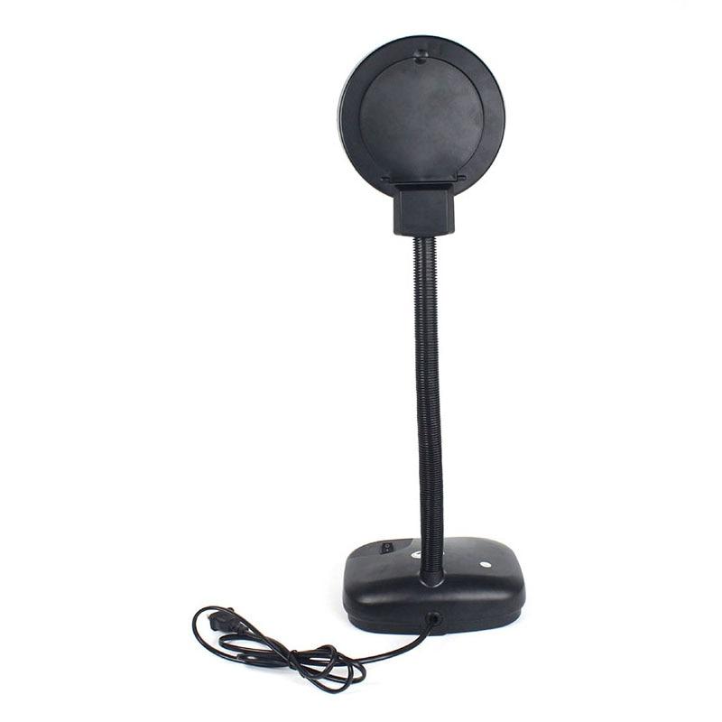 где купить New LED Desk Desktop Table Illuminated Magnifier 10X/3X Magnifying Glass Lamp Light 110V/220V по лучшей цене