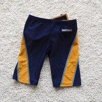 New Hot Popular Kids Swimming Trunks Quality Boys Teenagers Infant Swimwear Board Shorts Blue Children Beachwear 3-12Years