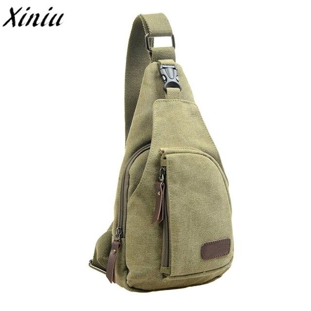 e17de634b3 New Arrive Man Belt Waist Bag Hot Sale Travel Casual Canvas Unbalance  Crossbody Shoulder Military Bags