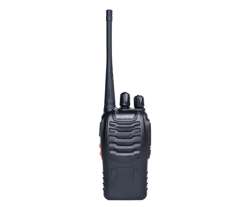 2шт Баофэн в BF-888s радиостанция рация УВЧ 400-470 МГц 16-канальный 888s рации разг нескольких БФ-888s портативный трансивер
