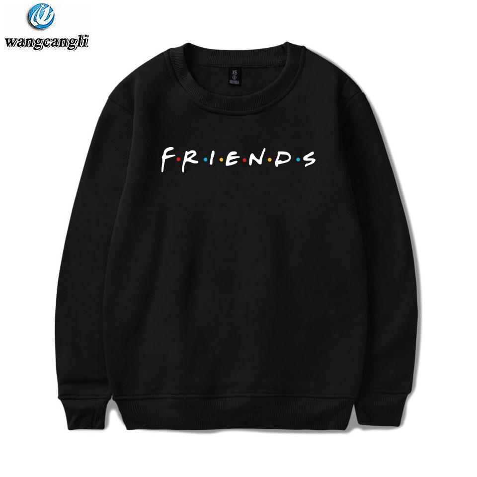 FRIENDS Printed Hoodies Sweatshirts Women/Men TV Show I'll Be There For You Hoodie Sweatshirt Fashion Fleece Warm Tracksuit 4XL