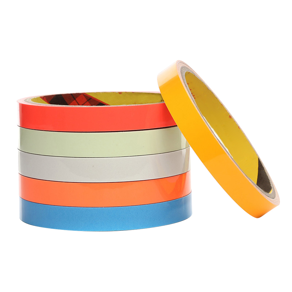 Reflective Glow Tape 12mmx5m Self-adhesive Removable Luminous Warning Tape Xxm8 Beautiful In Colour Reflective Material