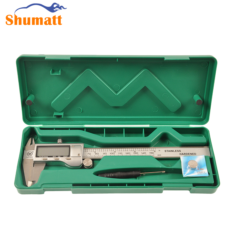 ФОТО Diesel Common Rail Electronic Digital Vernier Caliper 0.01mm-150mm LCD Measure metering Tester Repair Tool High Quality