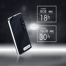 Yescool E510 портативный цифровой диктофон 8 | 16GB denoise диктофон Hi-Fi музыкальный плеер без потерь для студентов, офисных встреч