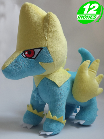 Pokemon manectric Plush Doll 12 inches