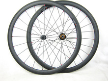 Super light  1320g  38mm clincher carbon wheel 23mm width 700C road racing cycle wheel 11 speed