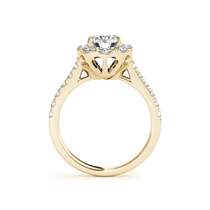 Image 3 - ANZIW Fashion 925 Sterling Silver Women Engagement Ring Sets 1 Carat Yellow Gold Color Lady Bridal Ring Sets Jewelry Gifts