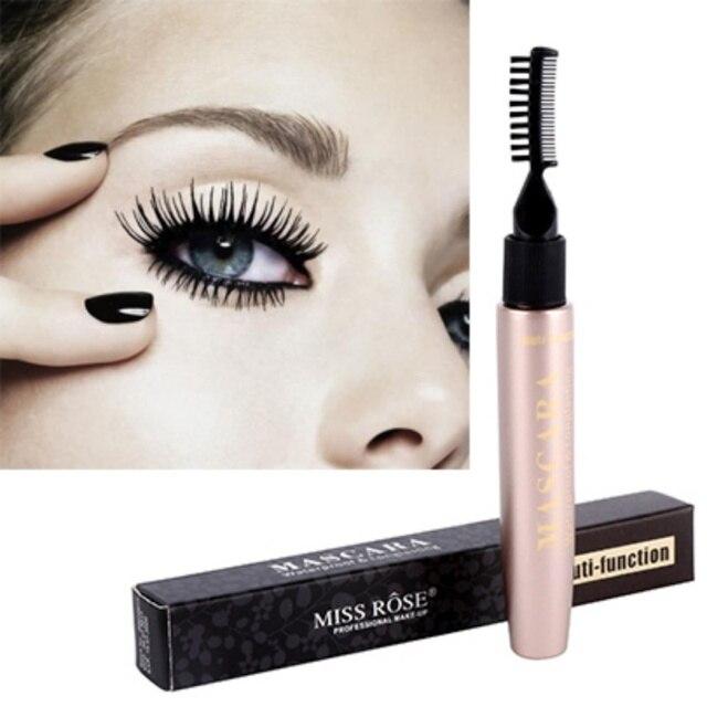 Natural Makeup Curling Length 3d Mascara Slim Dense Waterproof