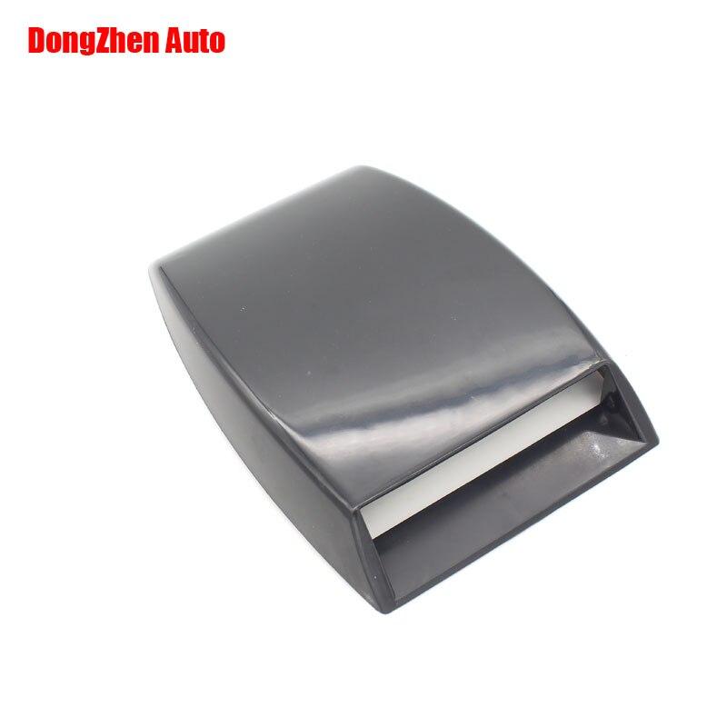 Free shipping Black Universal Car Air Scoop Flow Fender Sticker <font><b>cover</b></font> <font><b>Port</b></font> <font><b>Hole</b></font> Vent car styling