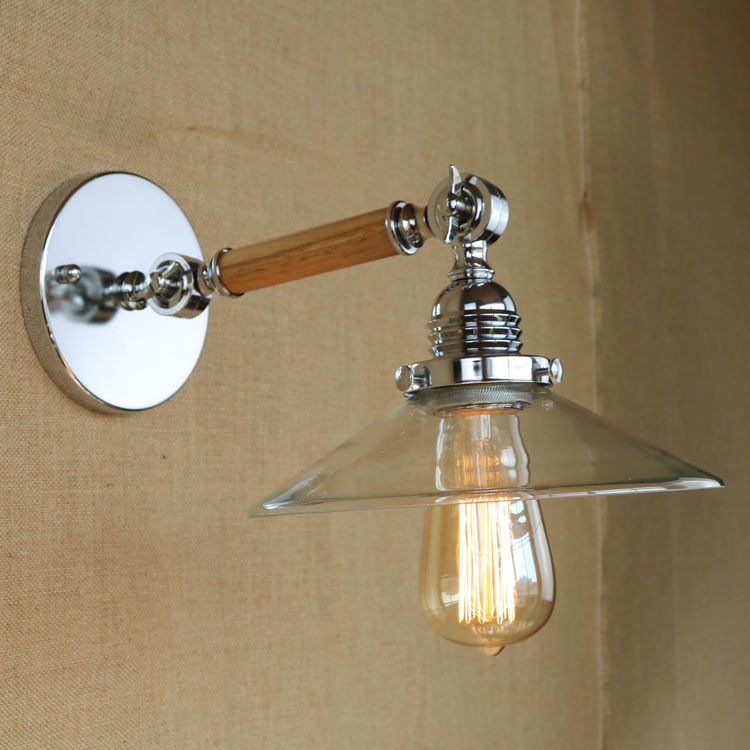 E27 Retro Loft Industrial Vintage Wall Lamp Wall Sconce Adjustable Arm Wood Metal Wall Light Indoor Stair Lighting WWL043 диск пластиковый star fit bb 20 d 26 мм черный 1кг