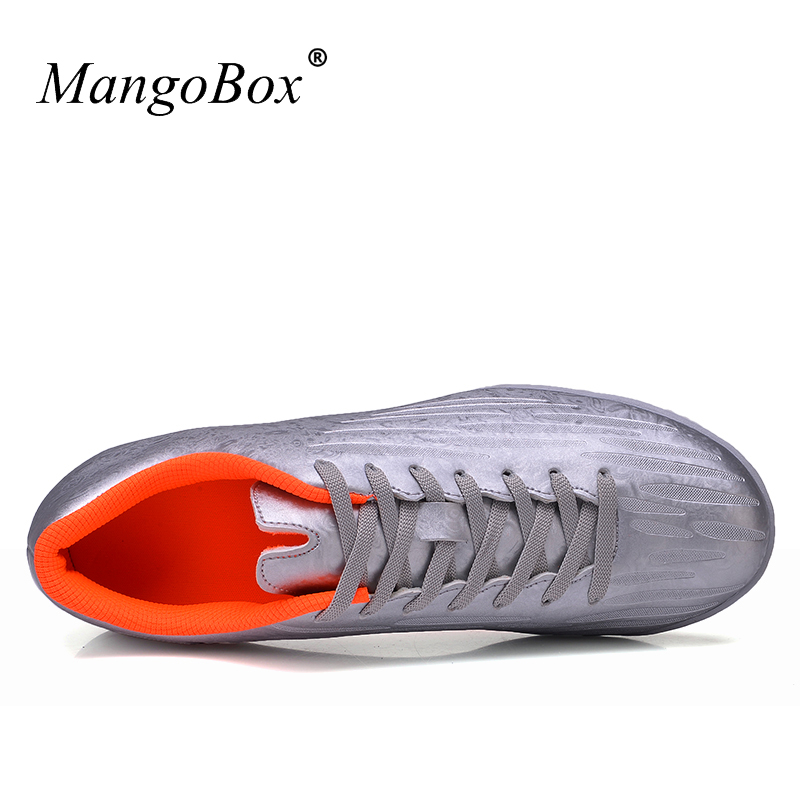 56296413403 MangoBox New Arrival Men Football Shoes blue Green Kids Football Cleats  Sale Soccer Shoes Tf lace up Soccer Sneakers