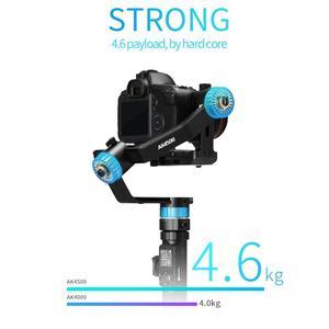 Image 2 - FeiyuTech AK4500 كاميرا Stailizer 3 المحور يده Gimbal لسوني/كانون/باناسونيك/نيكون ، الحمولة 10.14lb