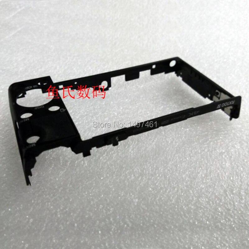 Nuovo bare back caso della copertura/posteriore borsette senza pulsante bady parti di riparazione per sony dsc-rx100m4; RX100IV; RX100-4 fotocamera digitale
