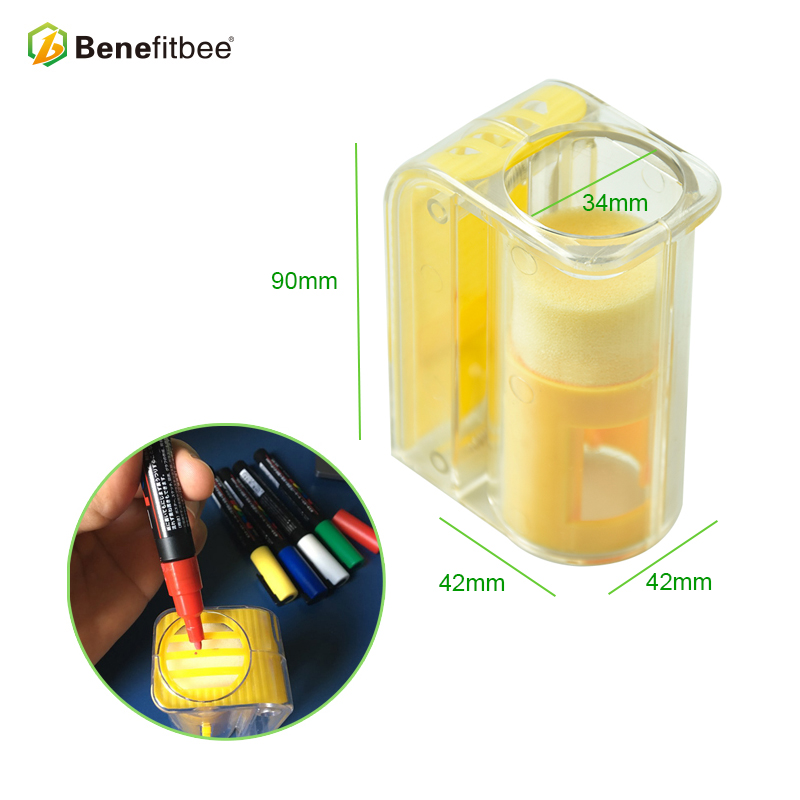 Image 2 - Выгодная пчела бренд ловушка для пчел королева клетка для пчел маркер для бутылки королева пчелиные клетки пчеловодства принадлежности для пчеловодства эквивалентный инструмент-in Инструменты для пчеловодства from Дом и животные