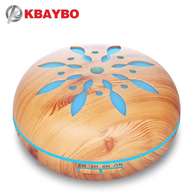KBAYBO Air Humidifier Essential Oil Diffuser Aroma Lamp Aromatherapy Electric 550ml Aroma Diffuser Mist Maker for Home-WoodKBAYBO Air Humidifier Essential Oil Diffuser Aroma Lamp Aromatherapy Electric 550ml Aroma Diffuser Mist Maker for Home-Wood
