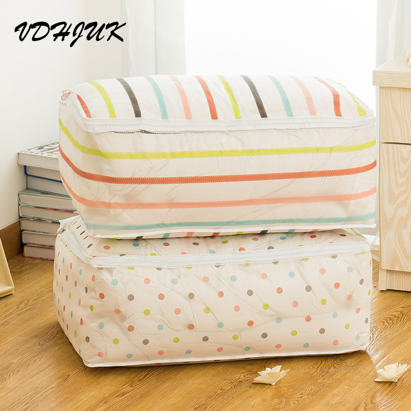 2016 new thicken portable clothes storage bag blanket