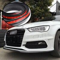 Car Carbon Fiber Front lip 2.5M For BMW E46 E39 E90 E60 E36 F30 F10 E34 X5 E53 E70 E30 F20 E92 E87 M3 M4 X6 X1 X3 X4 Accessories