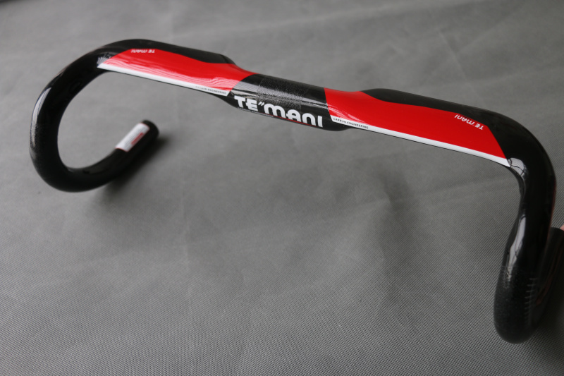 TEMANI UD Full Carbon Road Handlebar 31.8mm Bike Broken Wind Bent Bar Handle Interior Wiring Bicycle Handle bar 400/420/440mm new temani ful carbon bicycle handlebar road bike handle bar cycling racing handlebar bicycle parts 28 6 400 420 440mm