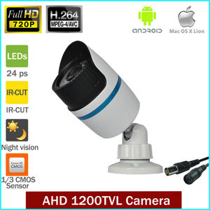 Full HD AHD 720 p Cctv outdoor Waterproof Indoor/Outdoor Camera HD 1MP AHD Analog Camera Night Vision IR 25 Mt Cctv 1200TVL Ca