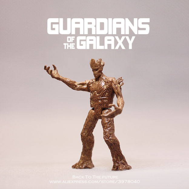 Disney Guardians Of The Galaxy 2 Tree Man Grout Collectible Toy Cartoon Mini Action Figure Doll Toys model for children gift