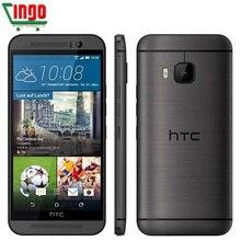 Оригинальный Разблокирована HTC ONE M9 Мобильный Телефон 5 дюймов 1920*1080 p x 3 ГБ ОПЕРАТИВНОЙ ПАМЯТИ 32 ГБ ROM 4 Г LTE Окта основные Android 5.0 20MP GPS WI-FI NFC