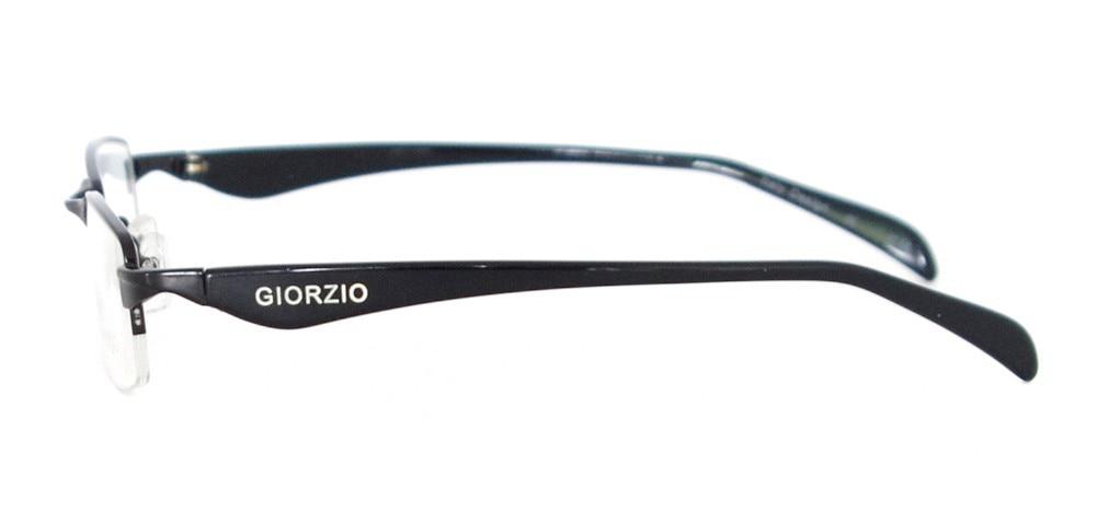 Мужская классическая оправа для очков прямоугольная металлическая полуоправа очки для рецептурных линз Близорукость прогрессивная