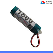 In the 1800mAh 3.7V plus 18500 cylindrical polymer lithium battery protection board electronic cigarette gadget Rechargeable Li-