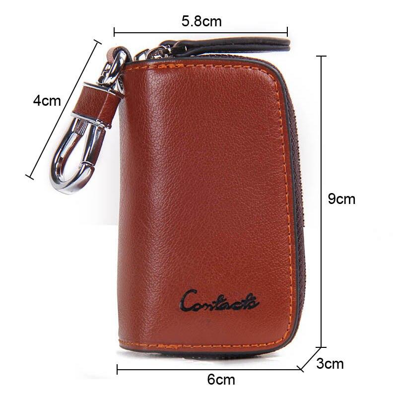 para o caso chave do Tipo : Leather Key Holder, Key Wallet, Car Key Case, Key Holder Organizer