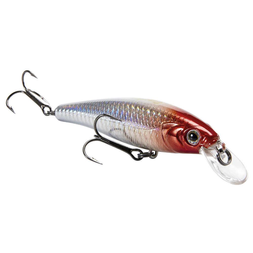 Leurre de pêche Piscifun 9.5cm 15g 3D yeux Simulation réaliste vairon leurre dur manivelle appâts de pêche crochets VMC Pesca Cebo