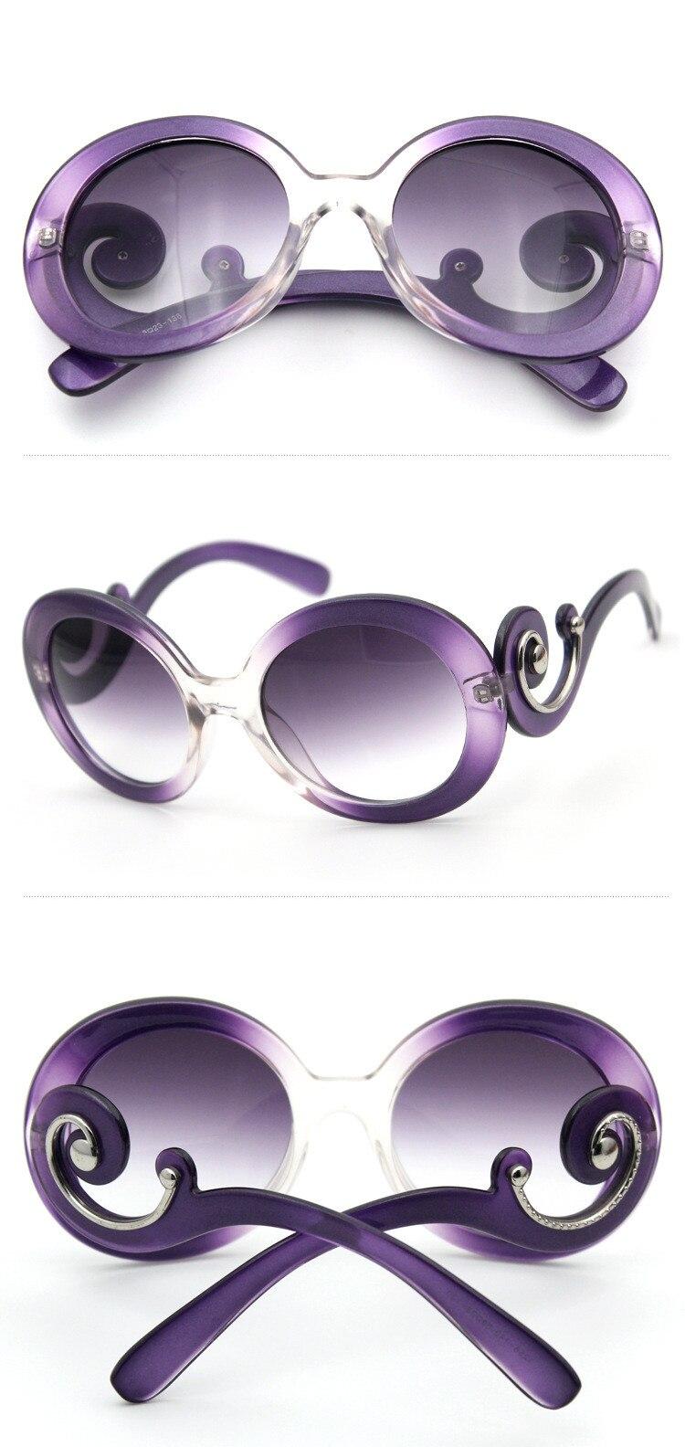 Luxus frauen rote sonnenbrille kreis rahmen sonnenbrille Wolke form ...