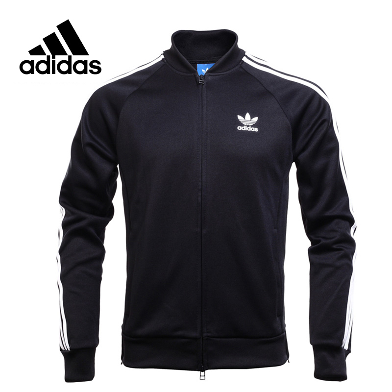 Original New Arrival Official Adidas Originals Men's Mandarin Collar Jacket Sportswear original new arrival official adidas men s breathable jacket hooded sportswear