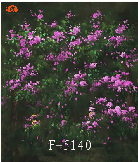 Professional10X10ft Nature scenic flower screen photography background,hand painted muslin photo backdrops for great studioF5140 2017 new10ft 20ft hand painted muslin scenic backdrops for photography photo studio background backdrop958photography backdrops