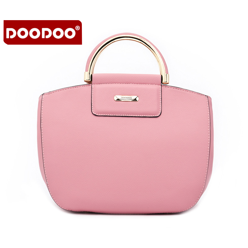 ФОТО PU leather women's handbag DOODOO Brand 2016 New style one shoulder bag for women European and American Style bags D6053
