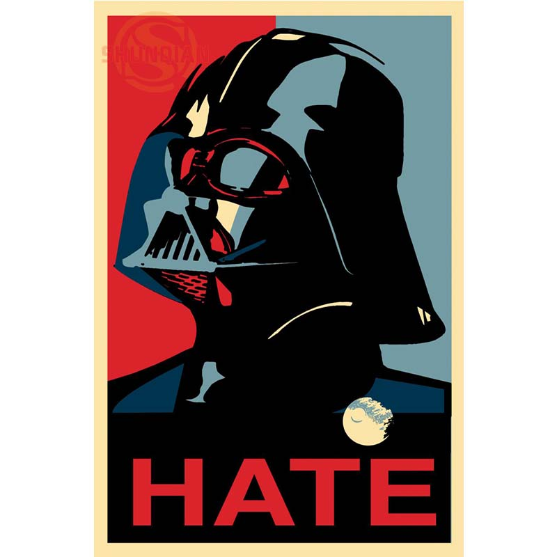 New Star Wars Join Retro Classic Poster Custom Canvas Poster Art Home Decoration Cloth F ...