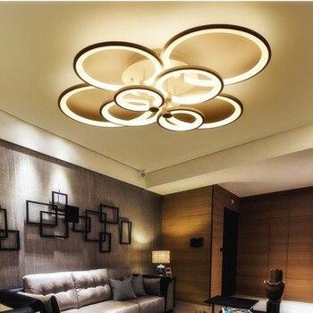 Uzaktan kumanda oturma odası yatak odası modern led tavan ışıkları luminarias karartma led tavan lambası Fikstür