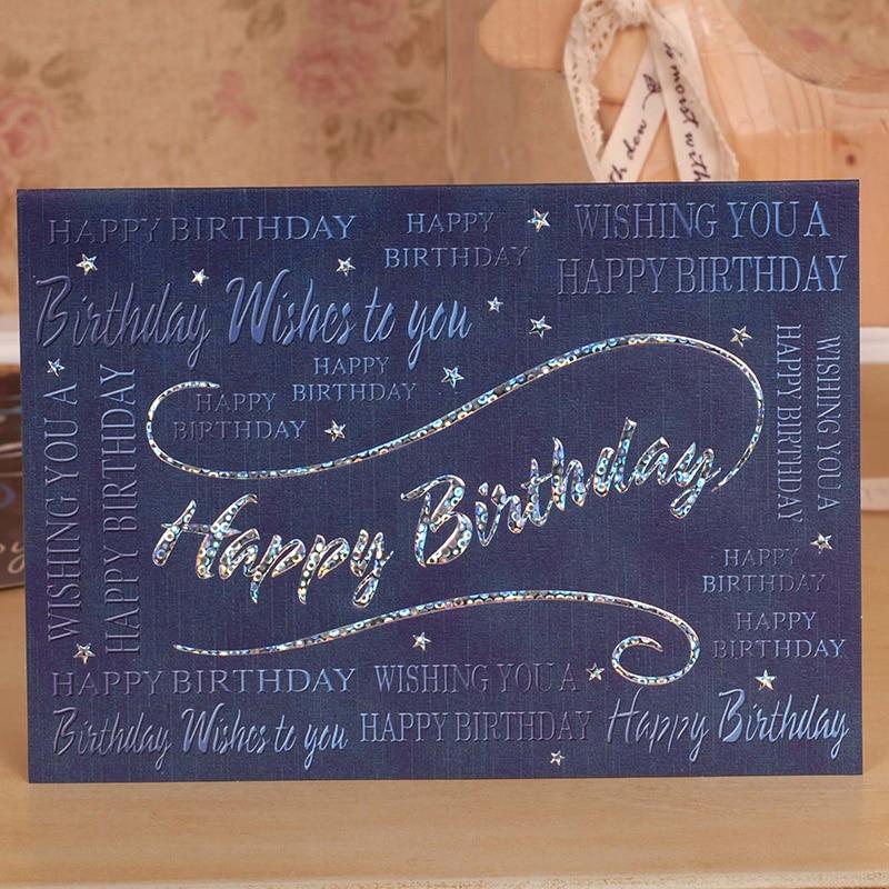 Colorful birthday greeting card business greeting card Korean high – Birthday Card Companies