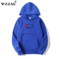 WZZAE 2018 Low Help Me Hoodies Men 3D Creative Hooded Sweatshirts Fashion Streetwear Hip Hop Black Hoodie Male Plus Size S-XXL 6
