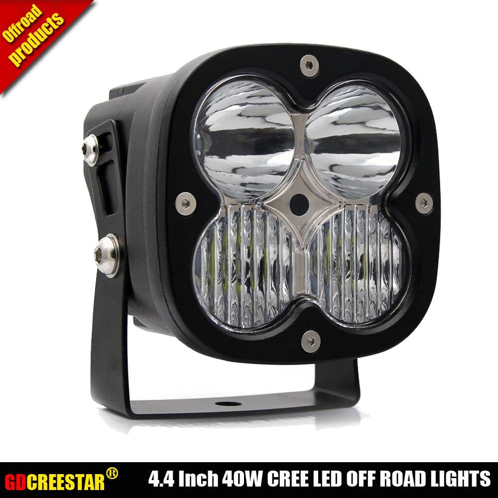 40 Вт светодио дный светодиодный рабочий свет комбинированный луч 4,4 светодио дный светодиодные внедорожные огни, используемые для автомоби...
