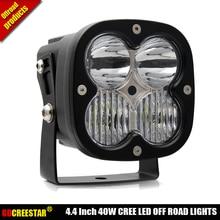 40 Вт Светодиодный рабочий свет смешанный комбинированный луч 4,4 дюйма светодиодный внедорожный свет, используемый для автомобиля грузовик внедорожник ATV UTV UTE 12 V 24 V светодиодный фонарь для вождения X1