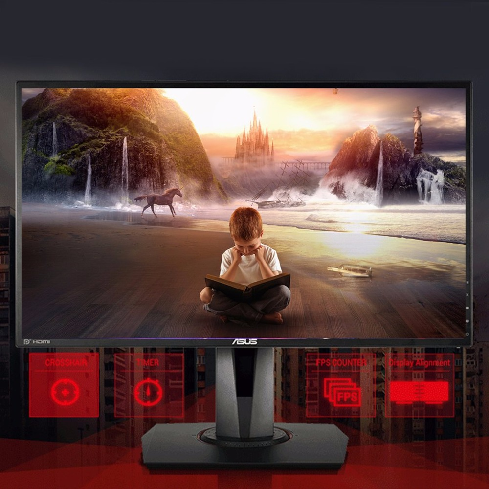 ASUS VG278Q Gaming Monitor 27 inch 16:9 Full HD 1080P LED