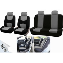 9 Piece Set Car Seat Covers 5 Seats Multicolor Sponge Bird Eye Cloth Car Seat Protection Cover Auto Interior Styling Seat Covers цены онлайн