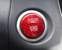 For Mercedes Benz A B Class W176 A180 A200 A250 A45 W246 B180 B200 Carbon Fiber Engine Start Stop Button Key Sticker