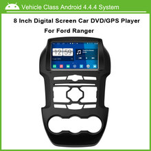 Android Car DVD Player For Ford RANGER GPS Navigation Multi-touch Capacitive screen,1024*600 high resolution