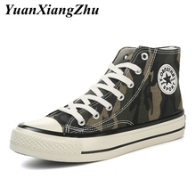 цена на Canvas Shoes Woman Fashion Camouflage Casual Shoes Couple Lace-up Sneakers Women Shoes Summer Breathable Basket Femme Trainers