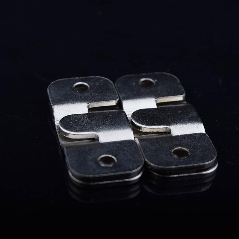 Venta caliente 10 unids/lote envío libre material de hierro percha ...