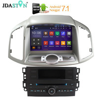 JDASTON Android 7.1 Car DVD Player For Chevrolet Captiva 2006 2015 Bluetooth WIFI 2G+16G SWC GPS Navigation Radio Multimedia