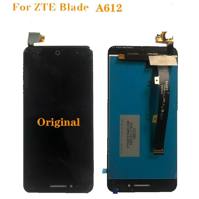 """Nouvelle dorigine pour zte blade A612 LCD moniteur écran tactile digitizer composante 5 """"100% des travaux dessai moniteur livraison gratuite"""